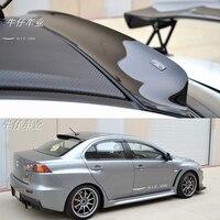 for Mitsubishi Lancer EX Evo 2008 2015 ABS plastic spoiler visor