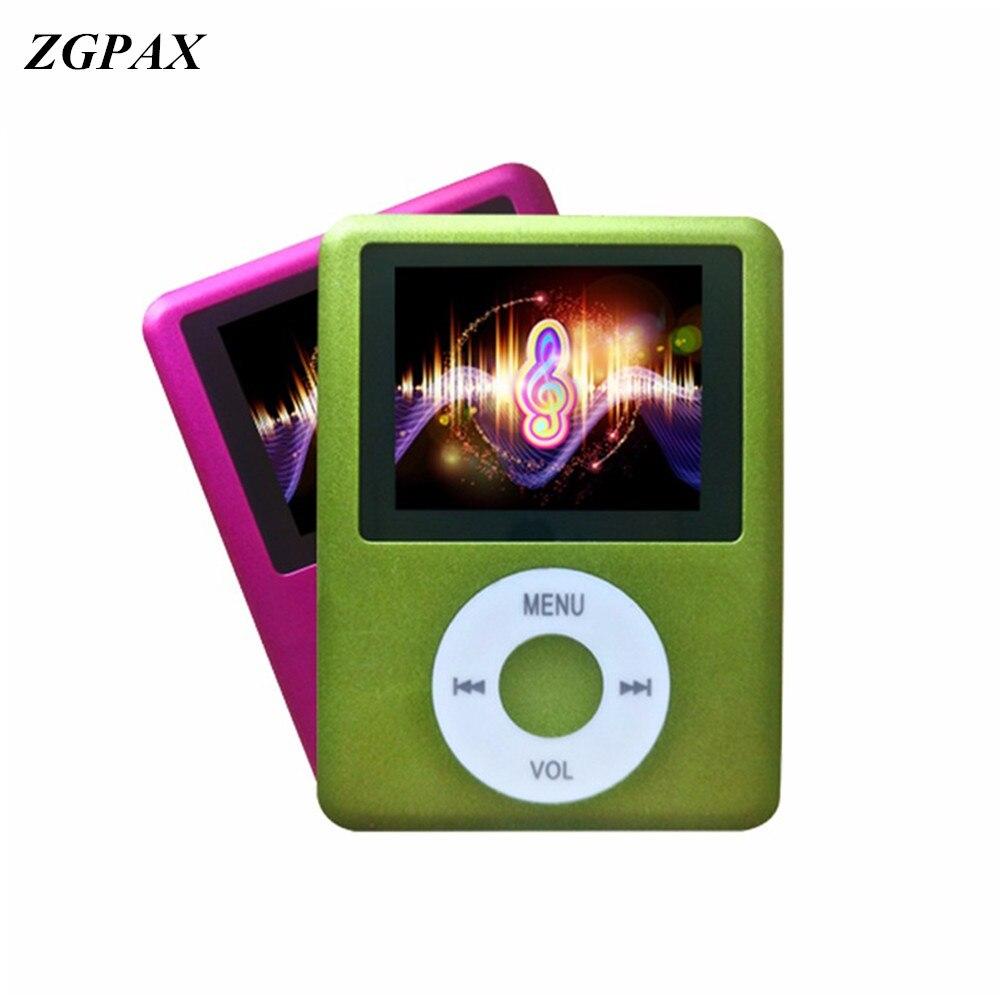 Tragbares Audio & Video Mp4 Player 1,8 Zoll 1,8 digitale Lcd-bildschirm Fm Radio Video Spiel Film Player Photo Viewer Ebook Zgpax Neue Slim