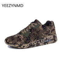 Unisex Summer Autumn Men Shoes Height Increase Male Camouflage Casual Comfortable Breathable Canvas Footwear