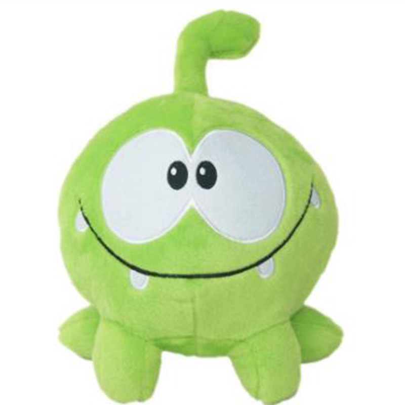 20cm Candy Monster Cut the Rope Plush Green Frog Stuffed Animals Frog Toys
