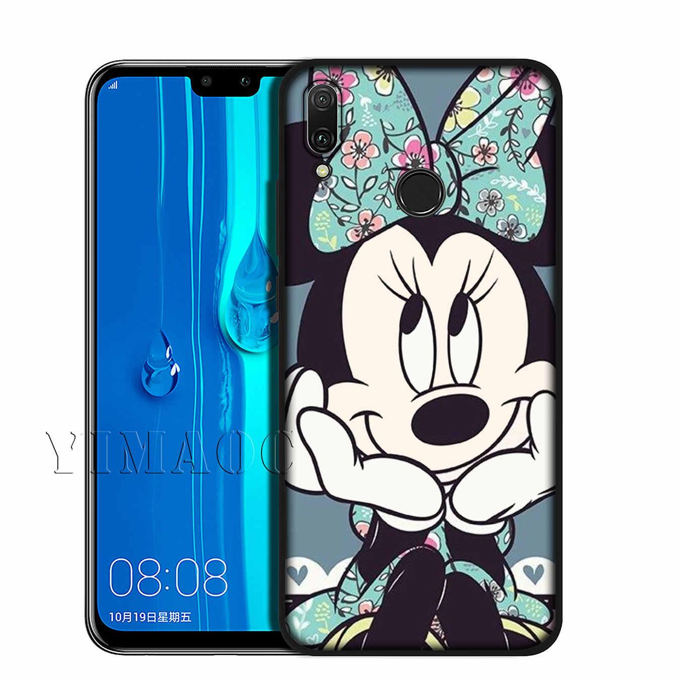 Мягкий чехол YIMAOC с Микки и Минни Маус для huawei Y9 Y7 Y6 Prime 2019 Honor 20 8C 8X8 9 9X10 Lite 7C 7X 7A Pro