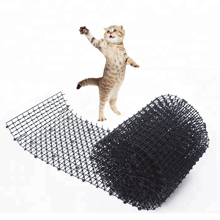 Garden Cat Dog Scat Mat - Cats And Dogs Repellent Mat Plastic Spike-Keeping Cats And Dogs From Digging