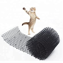 Garden Cat Dog Scat Mat - Cats and Dogs Repellent Mat Plastic Spike-Keeping cats and dogs from digging(China)