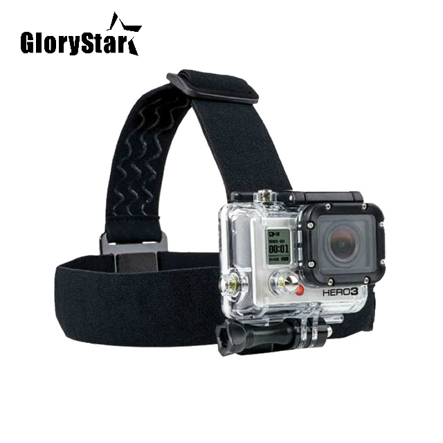 Elastic Mount Belt Adjustable Head Strap Band for Go Pro Session Gopro Hero 6/5/4/3 SJCAM Xiaomi Yi 4k Action Camera Accessories