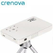 Crenova GP1S Карманный Мини DLP Проектор 500 Люмен Набор в Android WI-FI Bluetooth Домашний Кинотеатр Проектор для Конференц-Зал Бизнес-открытый