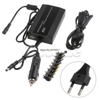 Voor Laptop In Auto DC Charger Notebook AC Adapter Voeding 100 W Universal-Y122
