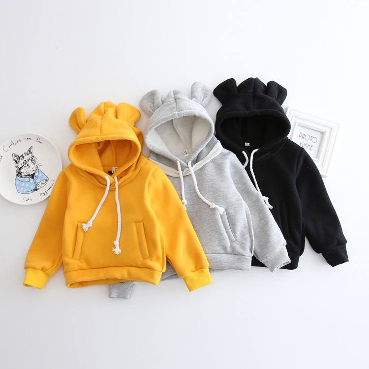 HTB1cguWXoQIL1JjSZFhq6yDZFXab - 1-5Yrs Children Hooded Sweatshirt Boys Cute Bear Ears Animal Hoodies Unisex Kids Clothing Girls Tops Coats Baby Casual Outwear