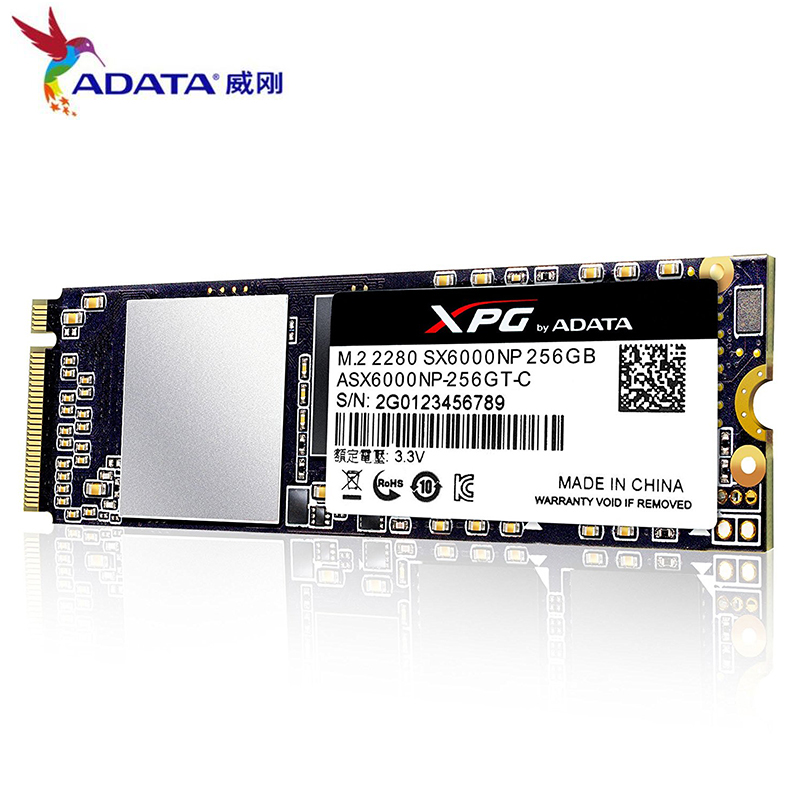 ADATA New XPG SX6000 PCIe 256GB 512GB 3D NAND PCIe Gen3x2 M 2 2280 NVMe 1