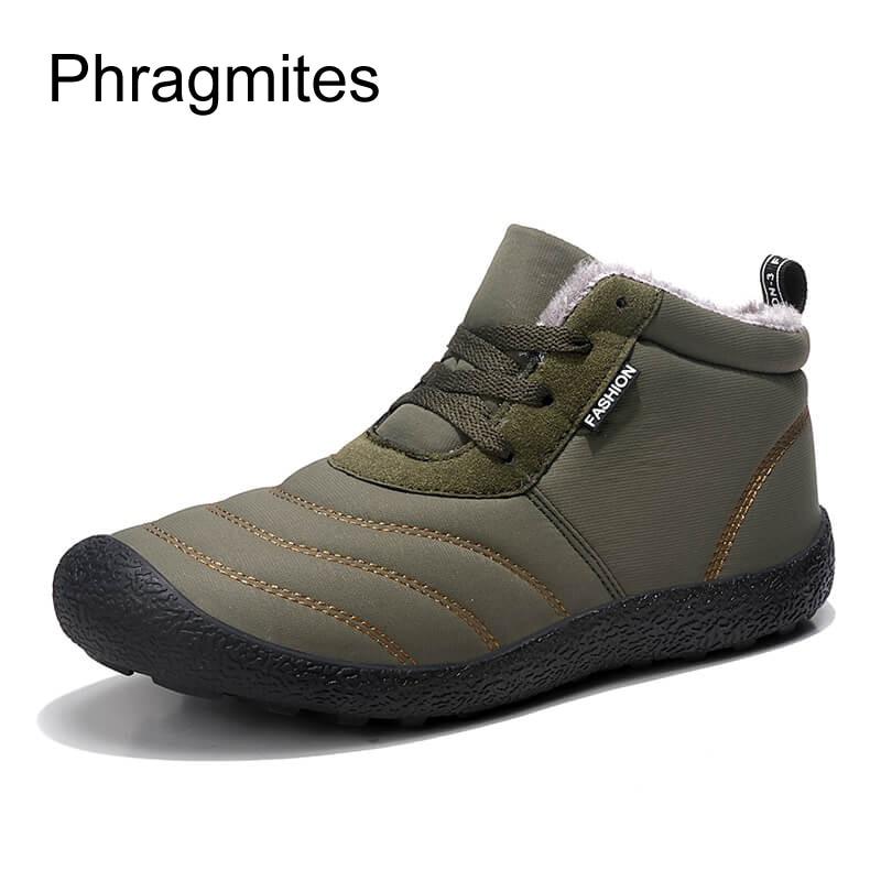Phragmites Botas slip Plein D'hiver Noir Coton Neige Hombre De Bottes En Air Papa Chaussures bleu Peluche Hommes Courte Imperméables Anti marron Hiver rdCBoxeW
