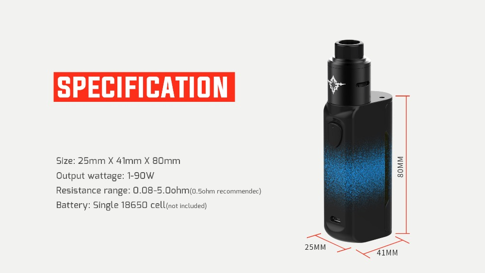 Rincoe Manto Mini RDA 90W Kit-5
