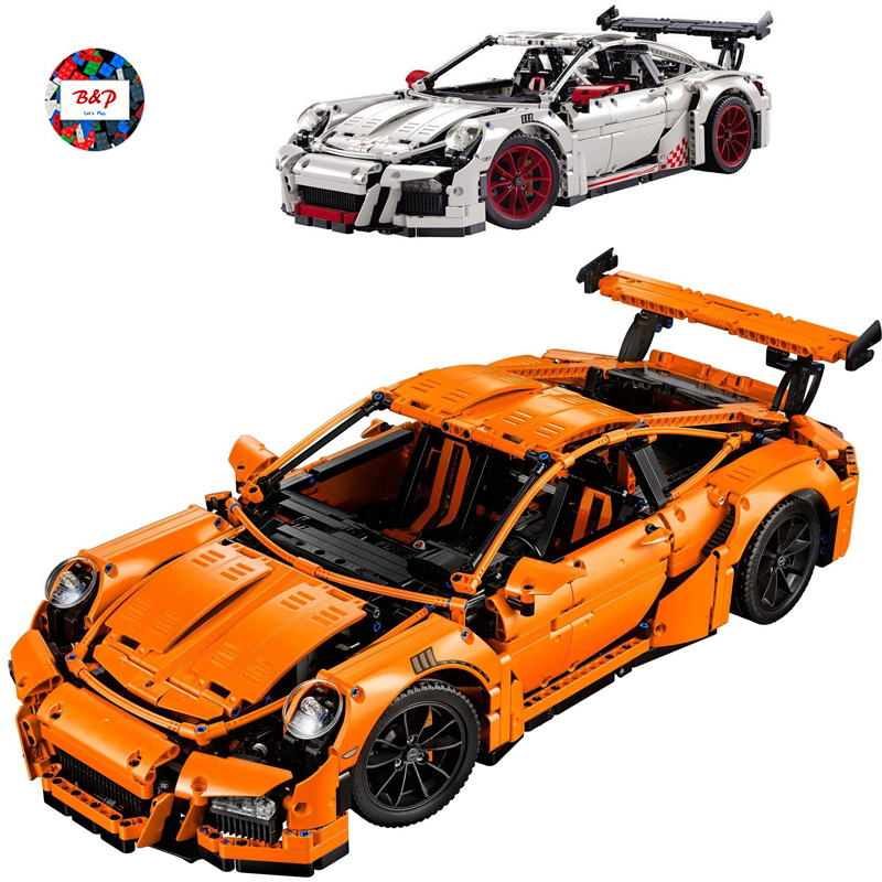 LEPIN 20001 2758pcs Technic Series The Supercar Model Building Block Diy Brick Educational Toy For children Gift legoing 42056 building blocks stick diy lepin toy plastic intelligence magic sticks toy creativity educational learningtoys for children gift