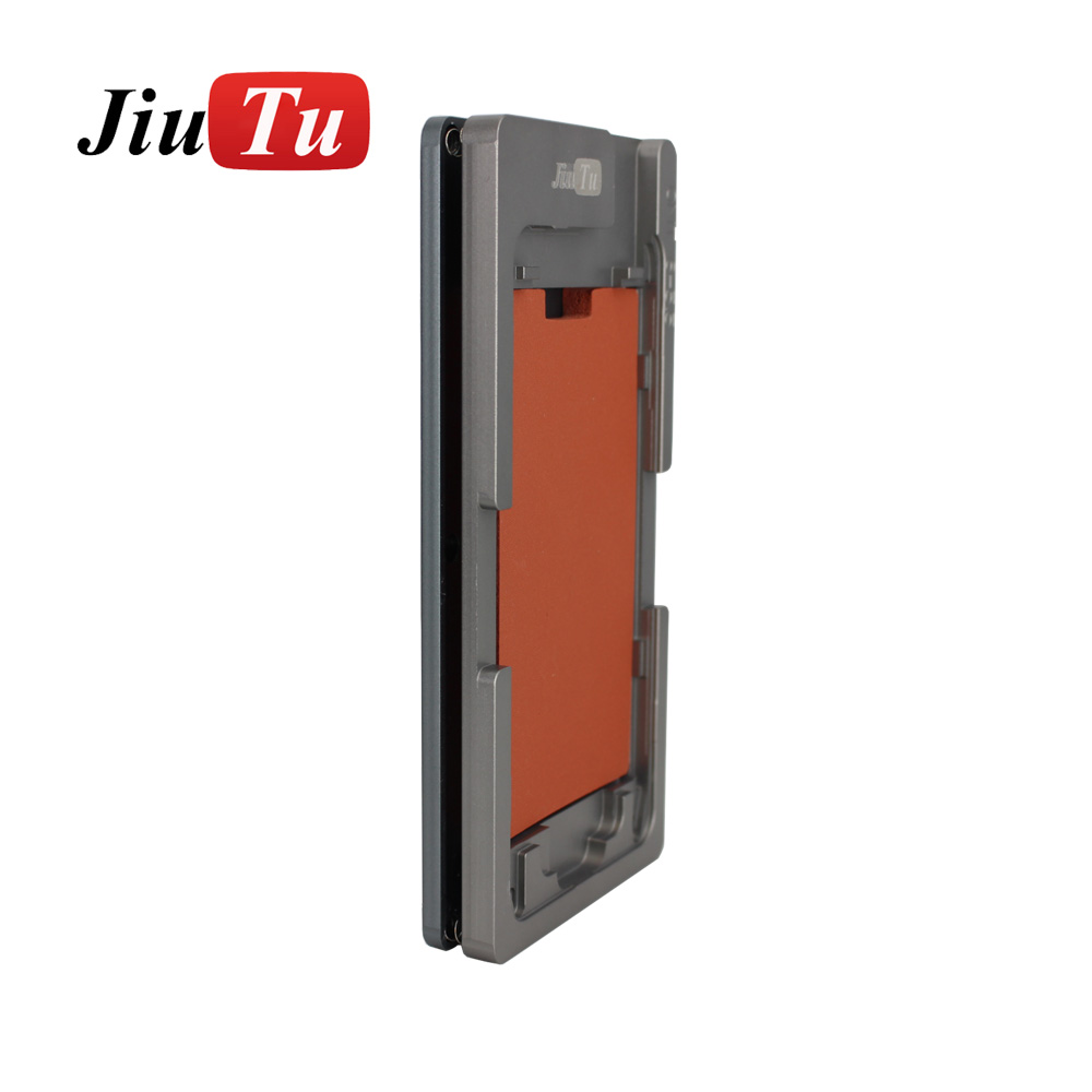 Aluminium Mould For iPhone plusX Laminator mold metal jig Only for the front glass with frame Location for OCA user (7)