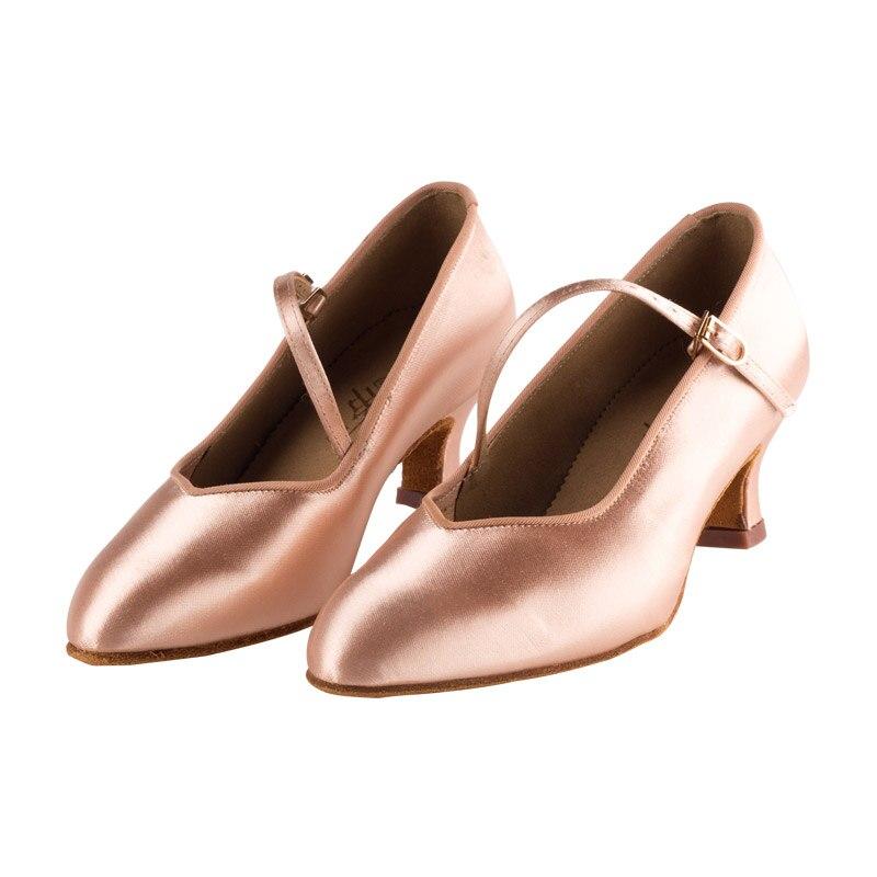Sneakers De Danse Latine Chaussures Femmes de Marque de Haute Qualité Satin Dames Aérobic Chaussures de Sport pour Fille Boucle Danse Coupons BD138 Chaude