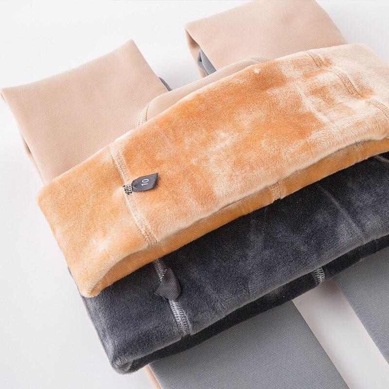 Autunno e Inverno Calze Sezione e Velluto Ispessimento Collant di Colore Caldo Fondazione Siamese