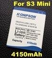 EB425161LU 4150 мАч Для samsung galaxy s3 mini батареи мини s3 i8190 i699 i8160 S7562 S7568 S7580 для Samsung s3 mini батареи