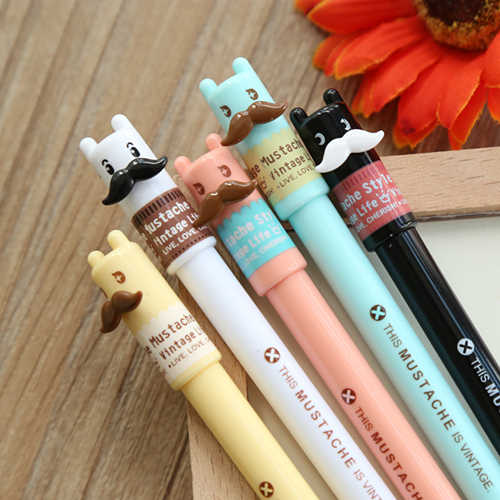 1PC/lot Kawaii series gel pen for school and gift  Bulk cute pens School office supply (ss-901)
