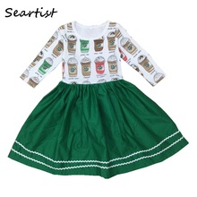 Seartist 2019 New Rush Baby Girl Dress Spring Long Sleeve Princess Casual Bebes Girls Clothes 48