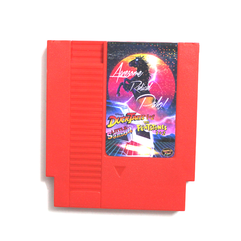 Super Game 5 In 1 (raudona) - 72pins 8bit Žaidimo kortelė Drop shipping!