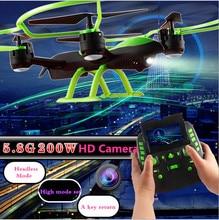 SKY HAWK 1331W big RC Drone 4CH 2.4G 2MP 5.8G FPV Real-time Transmission A Key Return pressure attitude Plane Model Toys vs X8G