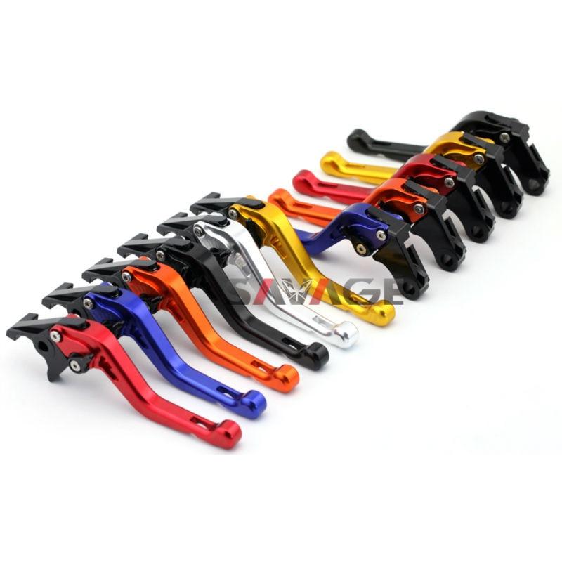 For HONDA CB600F HORNET/CB900F/CBF600N/S CNC Short Brake Clutch Levers folding extendable brake clutch levers for honda cb919 cb900f hornet 900 2002 2007