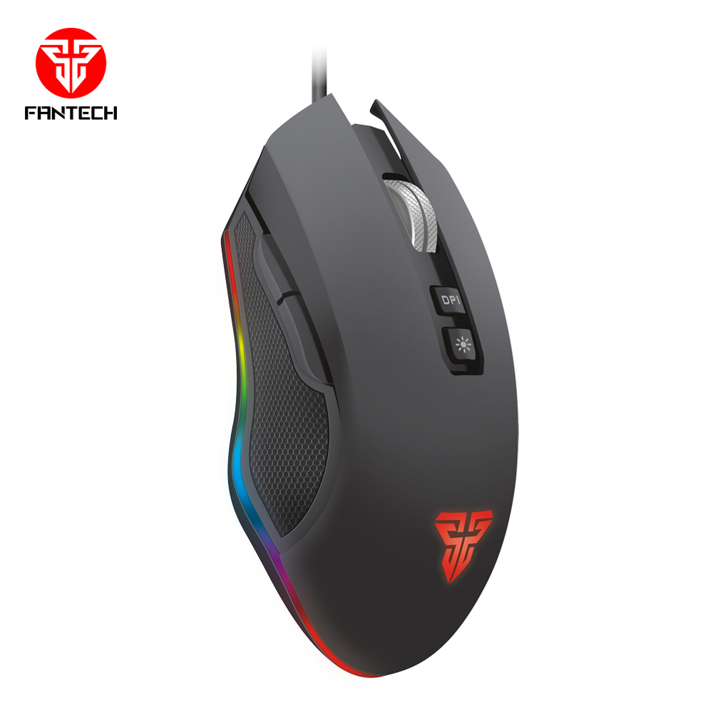 Image 4 - FANTECH X5S RGB Optical Professional Wired Gaming Mouse Adjustable 4800 DPI 10 Million Cycle USB Mice Cable Mouse For PC Gamer-in Mice from Computer & Office