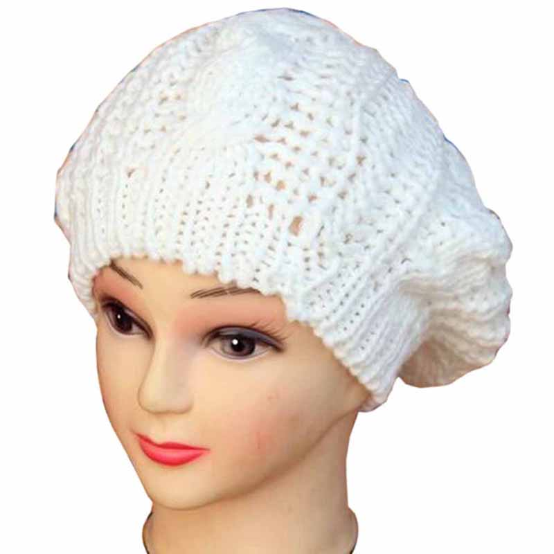 New Spring Winter Women Hats Beanies Knitted Cap Crochet Hat Ear Protect Casual Cap Hot Sale