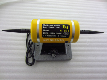 Máquina pulidora de pulir joyería de 0-6mm, herramienta eléctrica de trabajo pesado multiuso, motor de cepillo TM, maquinaria pulidora de tampón
