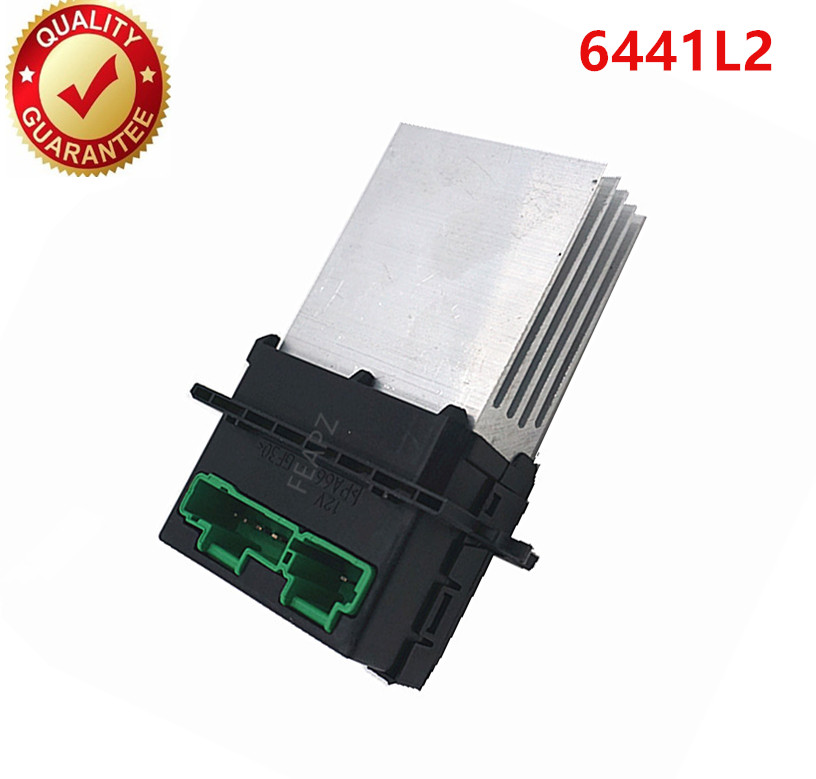 For Renault Megane Scenic Clio PEUGEOT 207 607 Heater blower Motor Resistor 6441L2 7701207718 7701048390 F657165W/M 6441.L2