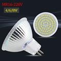 MR16 LED Spotlight GU5.3 Base 4W 6W 8W 2835SMD Led Bulb Lamp Light  220V ampoule Led Downlight Warm White / Cool White / White
