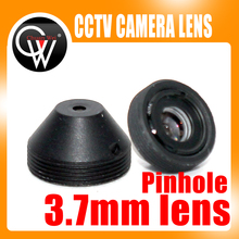 5pcs/lot High Quality metal 3.7mm ir lens camera Lens CCTV Board Lens For CCTV Security Camera