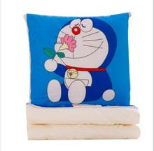 WYZHY Creative plush toy linen blanket pillow is napping new air conditioning two-in-one multi-functional gift