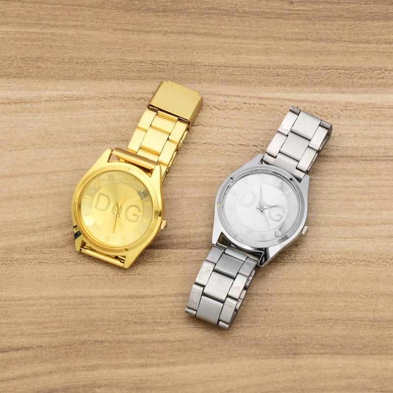 reloj mujer 2018 nye mode luksus kvarts ur Relogio Feminino rustfrit - Dameure - Foto 5