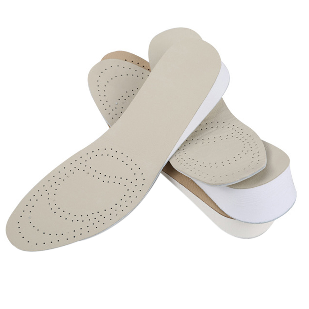 1.5cm Height Full Length Men Women Shoes Insoles Height Heel Cushion Height Increse Insole Pad