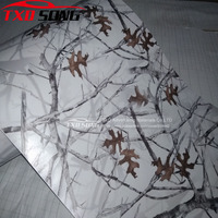 Good digital printing Real Tree Camouflage vinyl film Tree camo vinyl sticker with air free bubbles Size from 5m to 30m