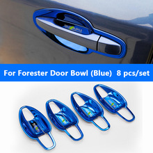 Car Styling Stainless Steel Door Bowl And Handle For Subaru