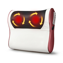 Infrared Heating Cloak electric massager for head neck relax shiatsu back massage pillow Body Health Care Relaxation 2019 silicone massage pat hammer health care shoulder back body foot massager clap stick relax muscle relaxation