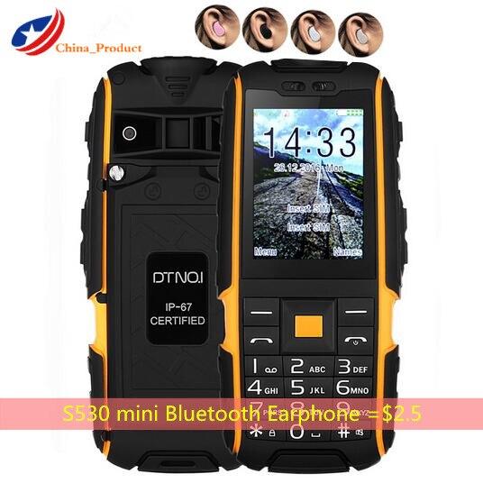 Gift DTNO I A9 Russian keyboard 4800mAh battery IP67 Waterproof shockproof phone Dual SIM Card mobile