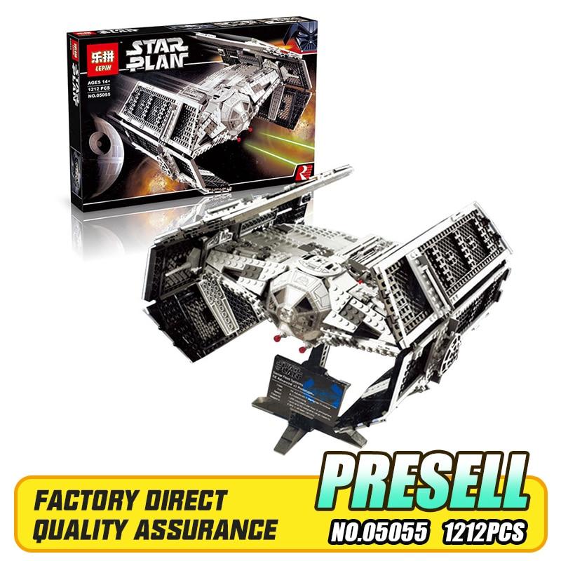 Здесь можно купить  Lepin 05055 Star War Series The Rogue One USC Vader TIE Advanced Fighter Set 10175 Building Blocks Bricks Educational Toys Gift  Игрушки и Хобби