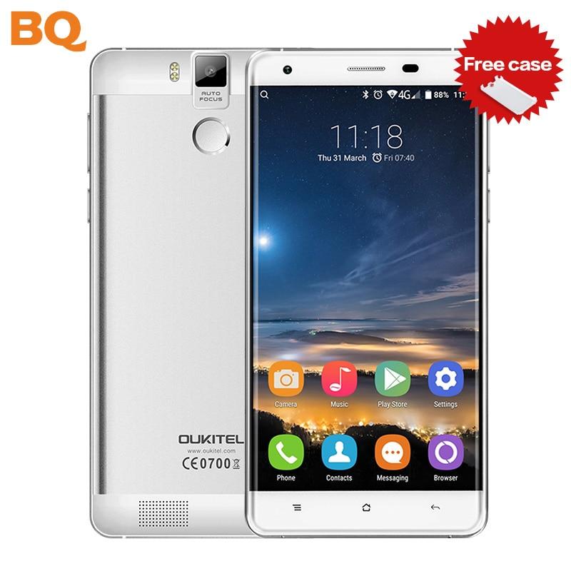 Original OUKITEL K6000 Pro 6000mAh MTK6753 Octa core 3G RAM 32G ROM Smartphone 5 5 Inch
