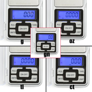 Image 4 - Electronic Digital Pocket Scale 0.01g Precision Mini Jewelry Weighing Scale Backlight Scales 0.1g for Kitchen 100/200/300/500g