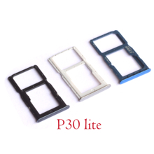 SIM Tray Holder SD Card Reader Slot Adapter for Huawei P30 lite