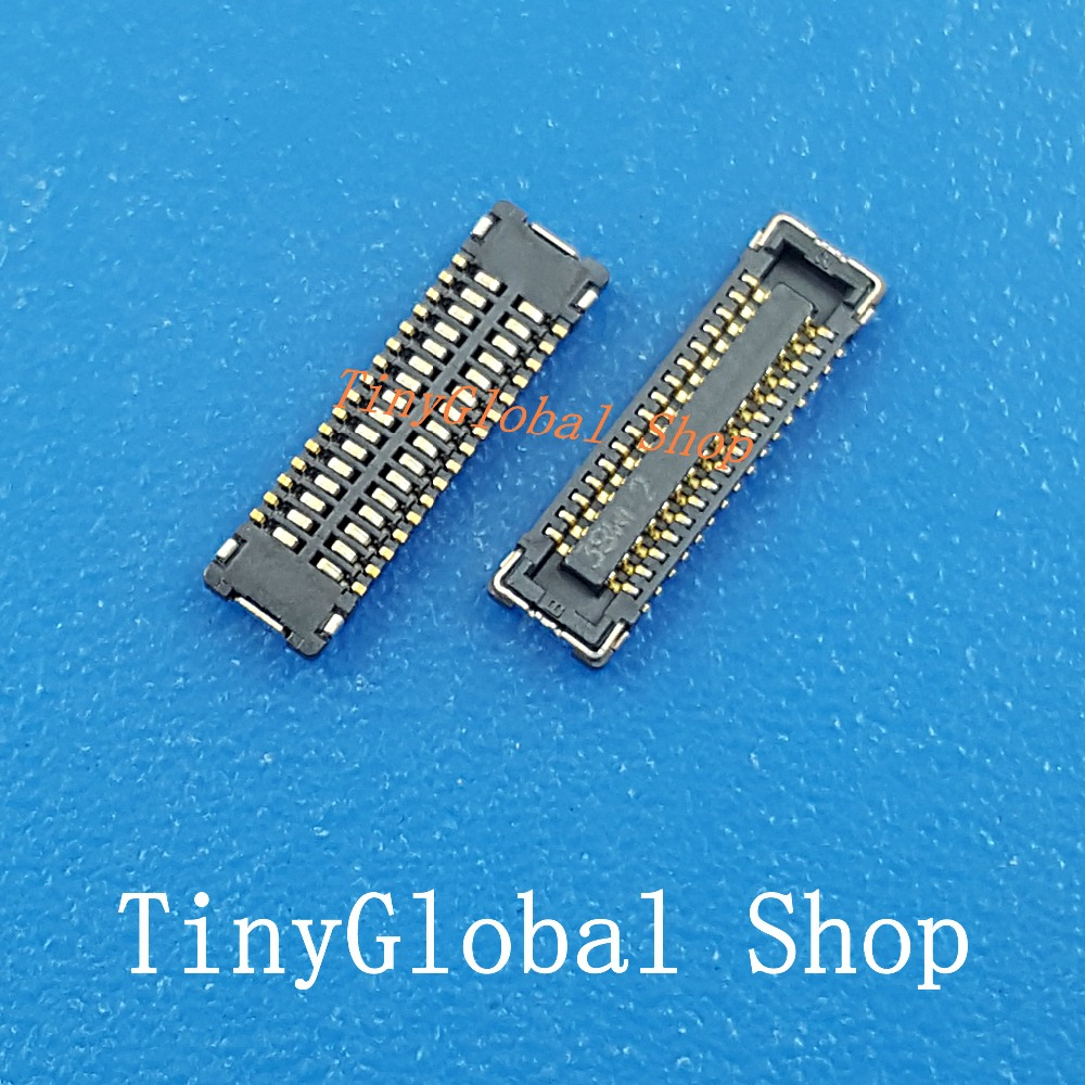 5pcs/lot LCD Screen FPC Connector Port Plug on Mainboard replacement for Apple iPad mini 1 2 3 MINI