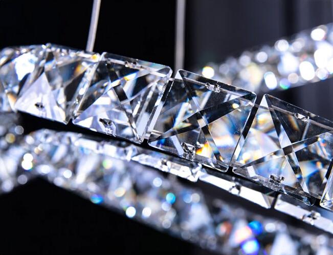 Heißer Verkauf modernes kreist Kristallleuchter-Licht-moderne - Innenbeleuchtung - Foto 5