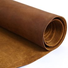 Passion Junetree cowhide cow leather brown thick genuine leather about 2.0 mm cowhide vintage (about 100x 22cm)