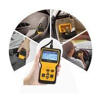 Car Fault Detector Diagnostic Tools Screen Display OBD Reader Read Error Diagnostic Codes Vehicle Fault Detector