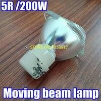 5R 200 W Movendo lâmpada feixe 5r Msd Platinum 5r feixe 200 R5 Lâmpadas De Iodetos Metálicos Lâmpada R5