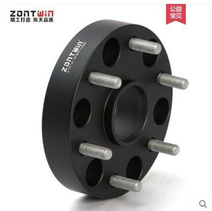 2PCS 6 139.7 67.1 or 6 139.7 106 aluminum alloy forged CNC wheel spacer for Mitsubishi Pajero V73 V71 V93 V97