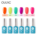 Gel Polish Kits Oulac Gel Nail Polish Soak Off Top Popular Nail Art UV Gel Polish