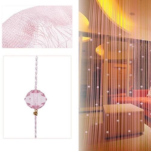 1x2m String Curtain Beads Panel Room Door Window Decor DIY Tassel Divider Drape