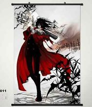 Home Decor Japanese Anime Wall poster Scroll Hellsing Alucard Cosplay Art 011